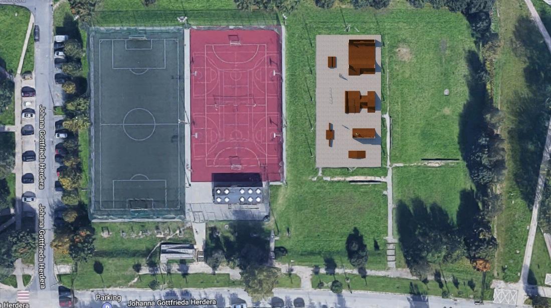 Zdjęcie do projektu Rozbudowa Skateparku Jaroty